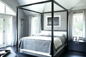 Black Four Poster Bed Frame Black Poster Bed Shay Black Poster Bed Podemosmataro Info