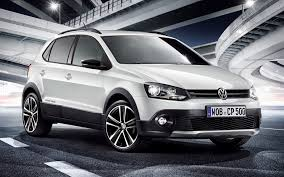 volkswagen white car volkswagen cross polo urban white 2012 wallpapers and hd images