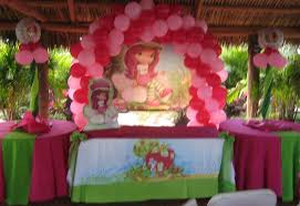 strawberry shortcake party supplies kids decorations at ease party