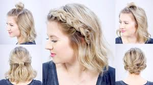 diy hairstyles in 5 minutes five 1 minute super easy hairstyles milabu youtube