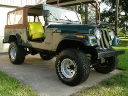 dark green jeep cj 1981 cj 8s