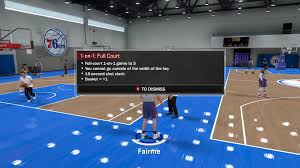 nba 2k18 myplayer training guide hold to reset