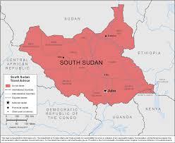 smartraveller gov au south sudan
