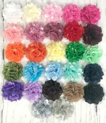 tulle flowers wholesale fabric flowers tulle flowers s goodies galore