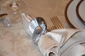 turkey napkin ring stranded in cleveland thanksgiving table décor painted gourds