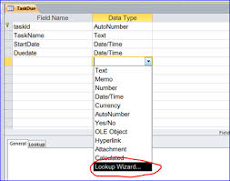 how to create a table in access how to create lookup field in table for ms access iaccessworld com