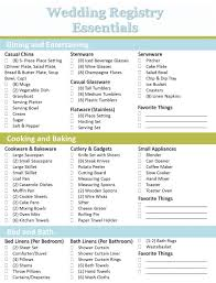 wedding registration list best 25 bridal registry ideas on wedding registry