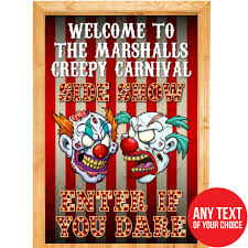 Creepy Carnival Decorations Creepy Carnival Halloween Decorations Party Supplies Canada Open