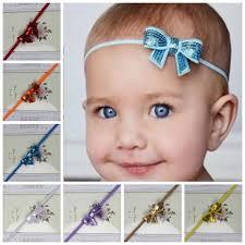 bow headbands infant flower headband sequin bow headbands babies children