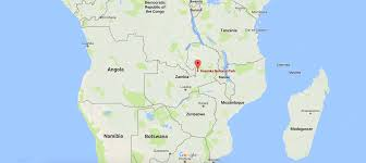 Map Of Zambia Witness The Bat Migration Kasanka National Park Zambian Safari