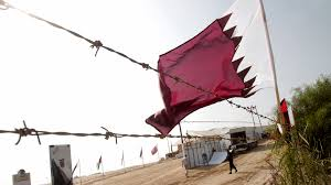 Picture Of Qatar Flag Qatar To Pay Gaza Salaries Pakistan Today