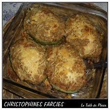 cuisiner les christophines christophines farcies la table des plaisirs