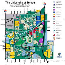 University Of Michigan Parking Map by Mercy Health Glass City Marathon U2014 Run Toledo Gcm April 22 2018