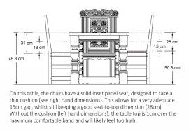 Standard Dining Room Chair Height Dining Table Height Dining Chair - Dining room table measurements