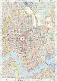 Maps Of Krakow Map Detailed City And Metro Maps Of Krakow For Download