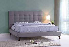 light grey upholstered bed brand new in packaging tufted light grey upholstered bed beds