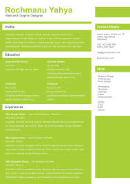 Resume One Page Template Resume Template More Than One Page Format Archives Online