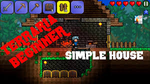 terraria beginner ios how to build a basic house with a