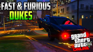 fast and furious online game gta 5 next gen doms charger from fast and furious dukes in gta