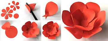 Making Of Flowers With Paper - how to make a paper flower crown for cinco de mayo