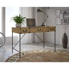 gold and white writing desk 60 most fab 36 inch writing desk wood large industrial style white