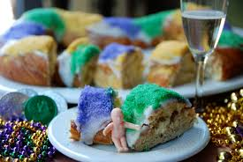 king cake baby jesus happy king s day unfolded