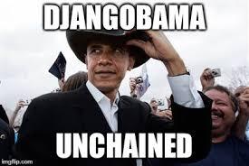 Django Meme - the executive action gunslinger with veto pen coming soon to a