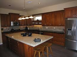 modern kitchen design with wooden cabinet island classic ideas
