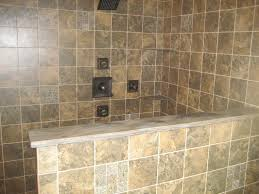 comfortable 6 bathroom with half wall tiles on half bathroom tile