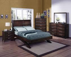 Rayville Upholstered Bedroom Set Crown Mark Furniture Vera Arched Bedroom Set In Rich Brown