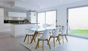 cuisine ouverte sur salle à manger espace de vie multifonction cuisine ouverte sur la salle à manger