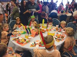 church preschoolers participate in annual thanksgiving