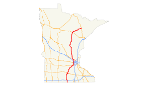 Map Mn U S Route 169 In Minnesota Wikipedia