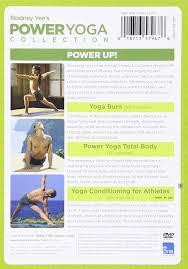 amazon com power yoga collection 3 full length programs rodney