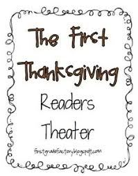 the thanksgiving readers theater thanksgiving