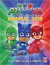 pj masks annual 2018 amazon uk pat cake pj masks