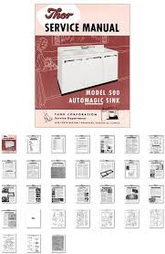 washer dryer library thor automatic sink service manual for