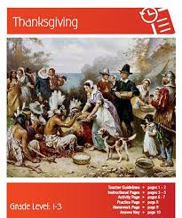 thanksgiving origins lesson plan clarendon learning