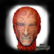 Freddy Krueger Halloween Costume Kids Freddy Krueger Mask Ebay