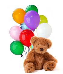balloons and chocolate delivery balloons teddy delivered at from you flowers