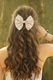 hair bows for floral hair bow for sweet and cool hairstyles for girl