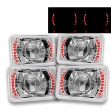 1986 chevy c10 tail lights chevy c10 pickup 1981 1987 red led sealed beam projector headlight