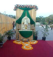 pooja decorations at home google search poojas pinterest