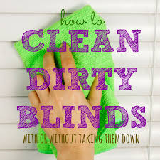 How To Dust Wood Blinds How To Clean Blinds Housewife How To U0027s