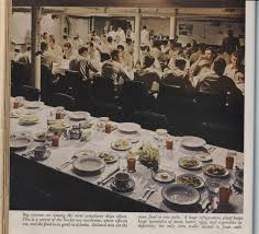 vintage us navy photographic history of mess halls wardrooms