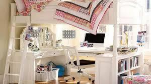 Loft Bed Designs For Girls Girls Loft Bed With Desk Youtube