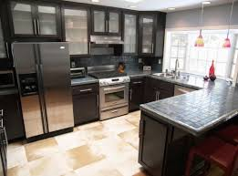 Black Kitchen Cabinets by Black Kitchen Cabinets With Glass Video And Photos