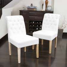 Fabric Dining Room Chair Covers Best Cloth Dining Room Chairs With White Fabric Regarding Foter
