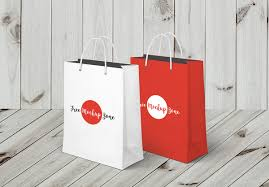 shopping bag mock up freebie psdblast