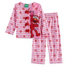 Elmo Bathroom Accessories Sesame Street 2 Pc Elmo Top U0026 Pants Pajama Set
